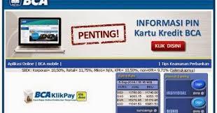 Klikbca Individual Jika Lupa User Id Dan Pin Banking Klikbca Emingko