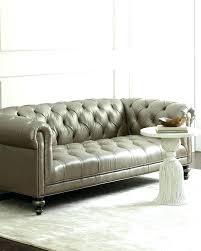 Grey Leather Tufted Sofa Gray Tufted Sofa Icedteafairy Club