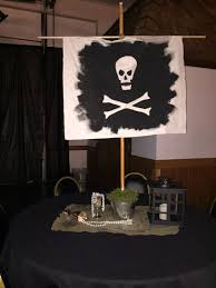 pirate table decor for u0027neverland peter pan u0027 prom theme prom