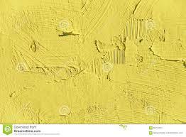 painting closeup texture plain light yellow color stock photo