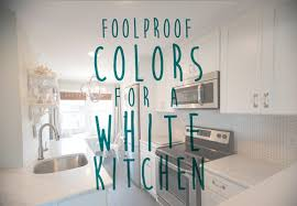 the best paint colors for a white kitchen my colortopia