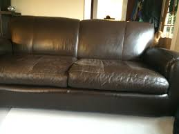 How To Repair Scratched Leather Sofa Leather Furniture Repair Before After Photos Leather Pros