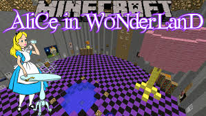 minecraft alice in wonderland custom map part 1 youtube