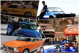 photos paul walker birthday today here are 5 cars fast and
