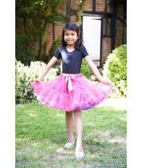 Cerise Violet Frothy Tutu Skirt Girls Dressing Up Skirt