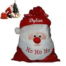 christmas santa sack stocking plus size gift bags ho ho christmas