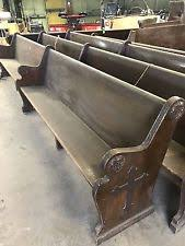 Church Benches Used Church Pew Benches U0026 Stools Ebay
