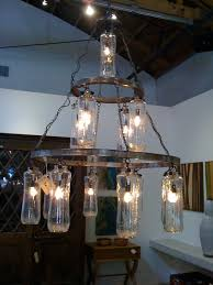 Wine Bottle Chandeliers Wine Bottle Chandelier Food And Drink Pictures