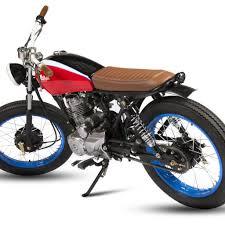 honda cg125 belladonna by maria motorcycles king of fuel