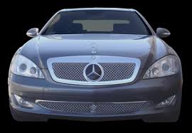 mercedes grill mercedes s 550 chrome bentley dual weave mesh grille