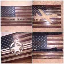 Reclaimed Wood Flag Wood Flags With Aircraft Cutouts Rugged Moose Decor