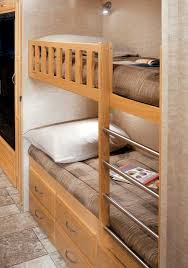 Rv Bunk Bed Ladder Rv Motorhome With Bunk Beds Excellent Gray Rv Motorhome With