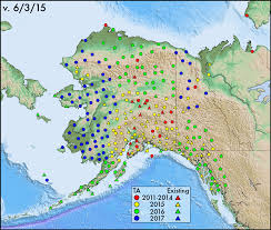 Alaska Map In Usa by Usarray Maps And Schedules