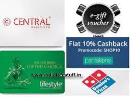 shoppers stop gift card 10 popular e gift card upto 20 cashback paytm