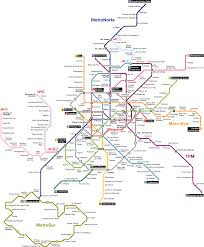 Santiago Metro Map by Madrid Metro Map Spain