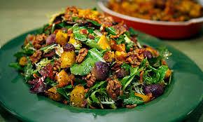 thanksgiving countdown roasted pumpkin salad daily dish los