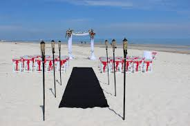 Wedding Arches Adelaide Wedding Red U0026 Black Beach Arbor