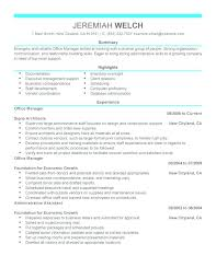 resume exles for restaurant restaurant manager resume sle free exles of office manager