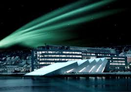 northern lights sun l the polaria aquarium a part of the polar environment center in