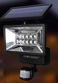 Outdoor Motion Sensor Security Lights by Gama Sonic Gs 10 Solar Motion Sensor Outdoor Security Light