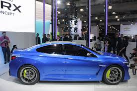 yellow subaru wrx subaru wrx concept breaks cover at new york auto show