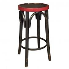 Black Bar Stools With Back Distressed Bar Stools Foter