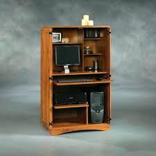 Computer Armoire Desk Cabinet Computer Armoire Desk Cabinet Viscometer Co Regarding Corner