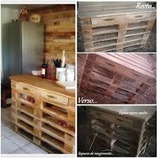 am agement tiroirs cuisine réalisation d un îlot central de cuisine en palettes pallets