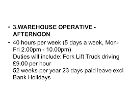 warehouse duties high quality duties of a warehouse worker for