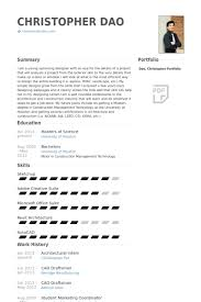 Draftsman Resume Sample by Architecture Student Resume Best Resume Collection