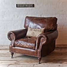 old leather armchairs the writer s chair this iconic winged club chair with bold