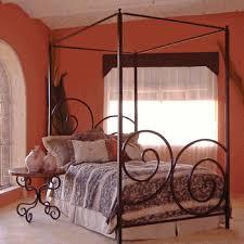 Wrought Iron Canopy Bed Wrought Iron Canopy Beds