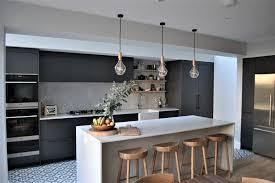 modern grey kitchen cabinets modern grey kitchen with black handles contemporary