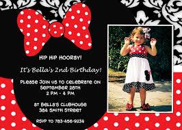 minnie mouse birthday invitation plumegiant com