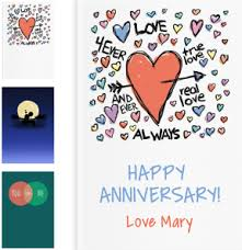 anniversary gifts personalized anniversary gifts by lovebook personalized gift book that says