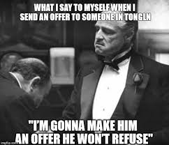 Godfather Meme - godfather respect imgflip
