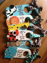 Baby Clothes Dividers Hand Painted Closet Dividers To Organize Your Nursery Closet Made