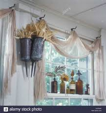 Valances For Living Rooms Window Cascade Valance With Beaded Trim Brown For S Ideas