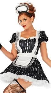 Maid Halloween Costumes Frenchie Costume French Maid Costume Yandy