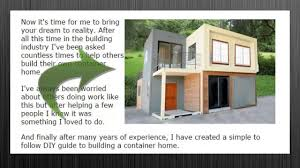container home project youtube