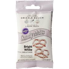 bright white candy drizzles pouch wilton