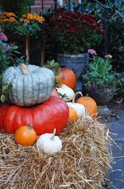 Fall Harvest Decorating Ideas - fall decorating ideas a quick front porch makeover the home depot