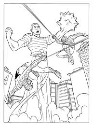film spiderman coloring pages to print spiderman images to color