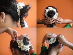 bharatanatyam hair accessories how to wear a bharatanatyam dress 12 steps with pictures