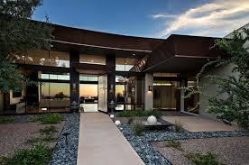 walls of glass defines arizona home re imagined for a modern