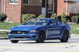 Black 2009 Mustang Gt 2018 Mustang Refresh Released 2018 Mustang Photos Cj Pony Parts