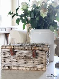 cing gift basket vintage baskets and charming ways to display them