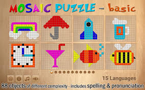 shapes mosaic puzzle for kids android apps on google play