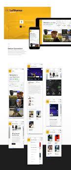 bureau lufthansa lufthansa infotainment concept on behance