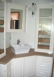 Corner Vanities Bathroom Corner Bath Vanity Bathroom Freda Stair Within Vanities Plan 15